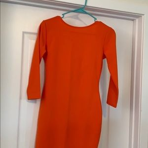 Boohoo -Sexy orange dress